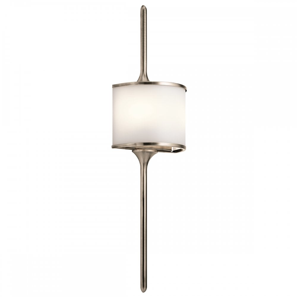 Elstead Mona 1 Light Large Wall Light Ip44 4 Finish Options Wall Lights From Envogue Lighting Uk